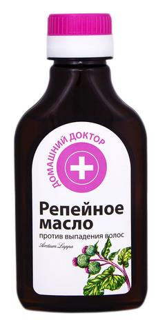 Домашній Доктор Реп'яхова олія проти випадіння волосся 100 мл 1 флакон