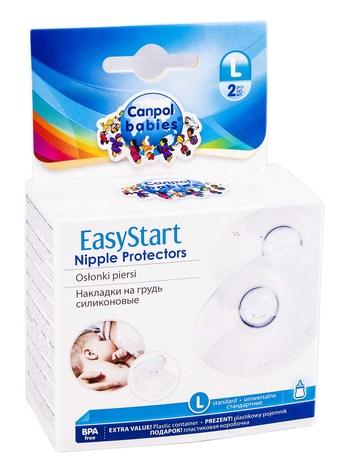 Canpol Babies Premium Накладки на груди силіконові L пара (18/603) 2 шт