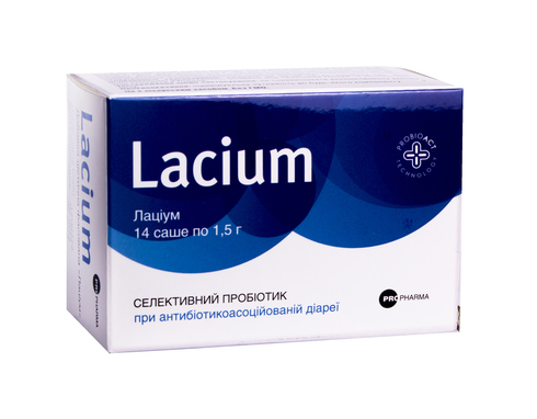 Лаціум порошок 1,5 г 14 саше