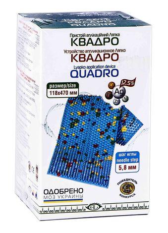 Аплікатор Ляпко Квадро 118х470 мм блакитний 1 шт