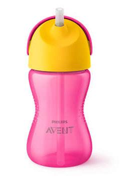 Avent Philips Чашка з трубочкою рожева з 12 місяців SCF798/02 300 мл 1 шт