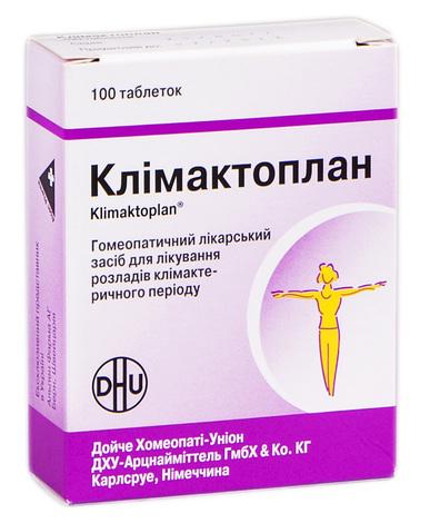 Клімактоплан таблетки 100 шт