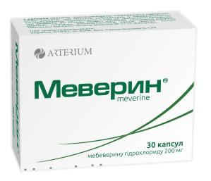 Меверин капсули 200 мг 30 шт