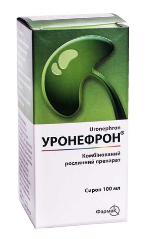 Уронефрон сироп 100 мл 1 флакон