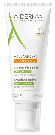 A-Derma Control Бальзам пом`якшувальний для сухої шкіри, схильної до атопії 200 мл 1 туба