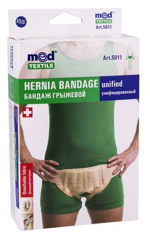 MedTextile 5011 Бандаж грижовий уніфікований розмір XS/S 1 шт