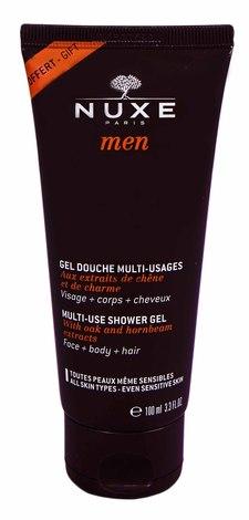 Nuxe Men Гель очищуючий для обличчя, тіла та волосся 100 мл 1 туба