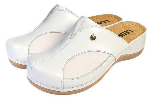 Leon 912 Медичне взуття жіноче білого кольору 41 розмір 1 пара