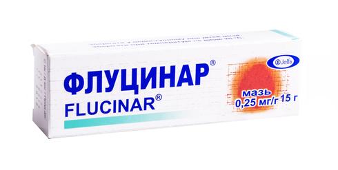 Флуцинар мазь 0,25 мг/г 15 г 1 туба