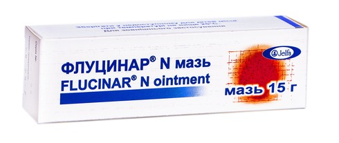 Флуцинар N мазь 15 г 1 туба