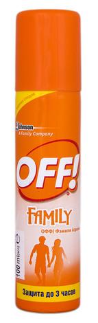 Off Family Аерозоль від комарів 100 мл 1 флакон