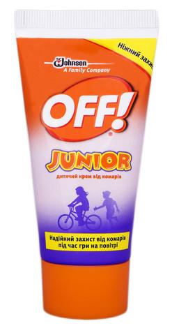 Off Junior Крем дитячий від комарів 50 мл 1 туба