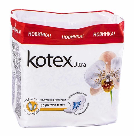 Kotex Ultra Soft Нормал Прокладки гігієнічні 10 шт