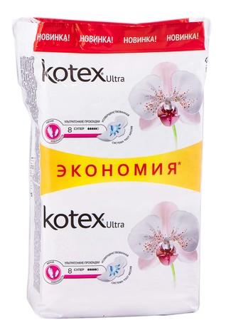 Kotex Ultra Soft Супер Прокладки гігієнічні 16 шт