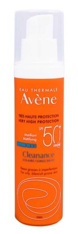 Avene Засіб сонцезахисний матуючий для жирної та проблемної шкіри SPF-50+ 50 мл 1 флакон