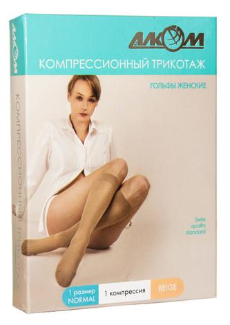 Алком 5011 Гольфи жіночі компресія 1 розмір 1 бежевий 1 пара