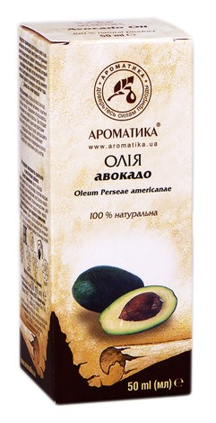 Ароматика Олія авокадо 50 мл 1 флакон