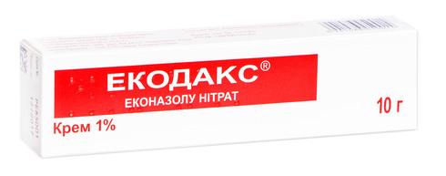 Екодакс крем 1 % 10 г 1 туба