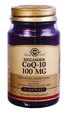 Solgar Коензим Q-10 капсули 100 мг 30 шт