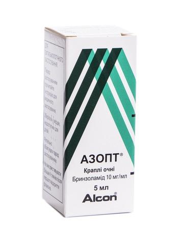 Азопт краплі очні 10 мг/мл 5 мл 1 флакон