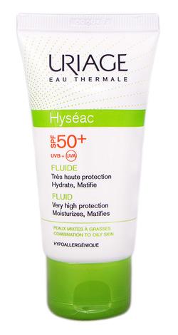 Uriage Hyseac Сонцезахисний флюїд SPF-50+  50 мл 1 туба
