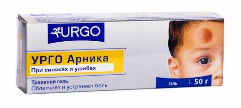 Urgo Арніка гель 50 г 1 туба
