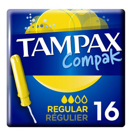 Tampax Compak Regular Тампони з аплікатором 16 шт