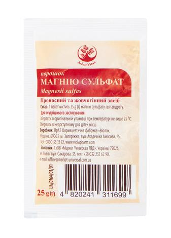 Магнію сульфат Arbor Vitae порошок 25 г 1 пакет
