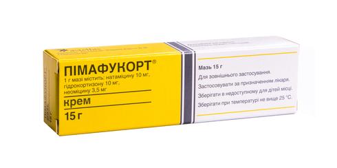 Пімафукорт крем 15 г/0,5 г 1 туба