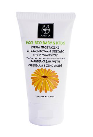 Apivita Eco-Bio Kids Крем захисний з календулою і оксидом цинку 75 мл 1 туба