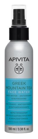 Apivita Greek Mountain Tea Антиоксидантна та освіжаюча вода для обличчя 100 мл 1 флакон