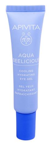 Apivita Aqua Beelicious Гель зволожуючий для шкіри навколо очей з охолоджуючим ефектом 15 мл 1 туба