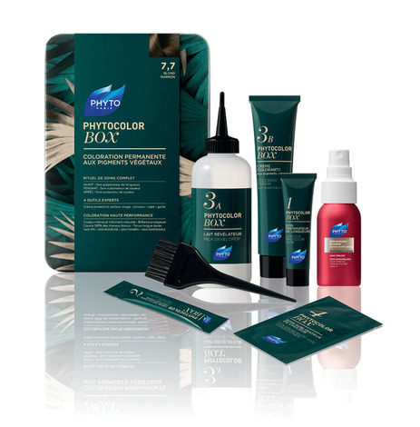 Phyto Phytocolor Бокс Набір для фарбування волосся тон 7,7 русяво-каштановий 1 шт