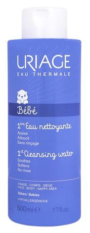 Uriage Bebe 1-ша Вода очищаюча для немовлят та дітей 500 мл 1 флакон
