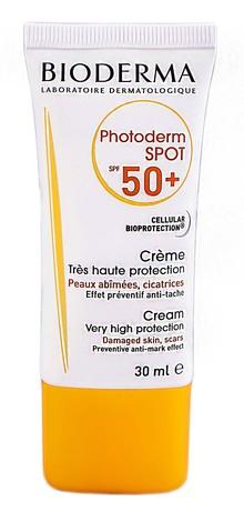 Bioderma Photoderm Spot Крем сонцезахисний для тіла SPF-50+ 30 мл 1 туба