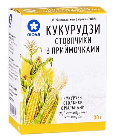 Кукурудзи стовпчики з приймочками Віола 30 г 1 пачка