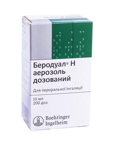 Беродуал Н аерозоль для інгаляцій 200 доз 1 флакон