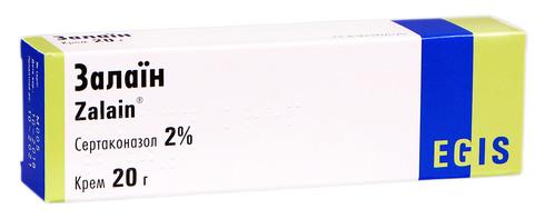 Залаїн крем 2 % 20 г 1 туба