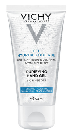 Vichy Гель для очищення рук, що не потребує змивання 50 мл 1 туба