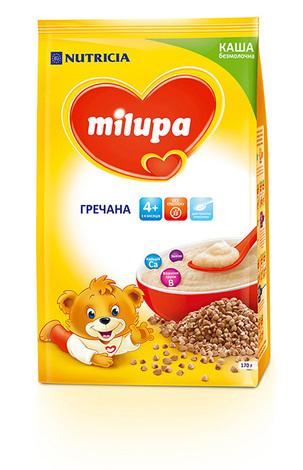Milupa Каша безмолочна гречана без цукру з 4 місяців 170 г 1 пакет