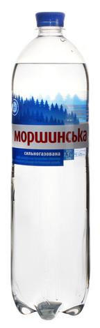 Моршинська Вода мінерально-столова сильногазована 1,5 л 1 пляшка