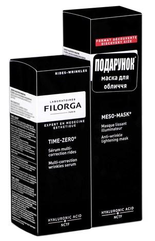 Filorga Тайм-Зеро сироватка 30 мл + Мезо-Маска маска 30 мл 1 набір