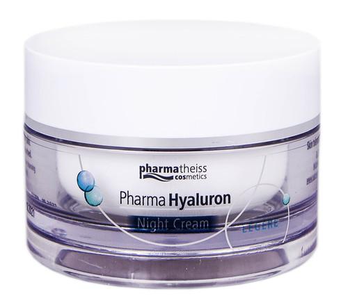 Pharma Hyaluron Крем нічний для обличчя Legere 50 мл 1 банка
