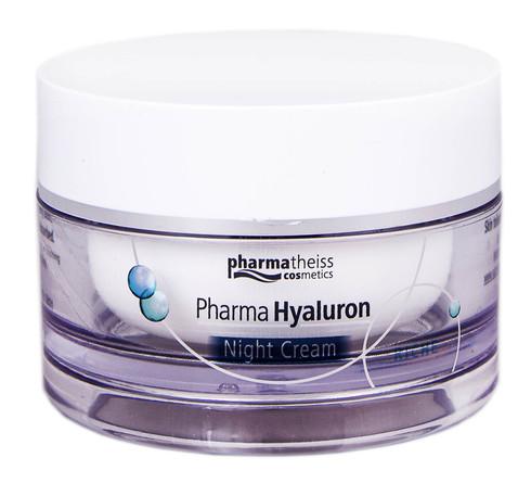 Pharma Hyaluron Крем нічний для обличчя Riche 50 мл 1 банка