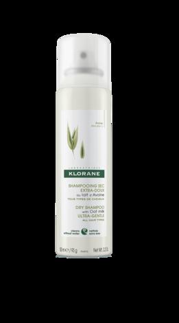 Klorane Шампунь сухий з вівсяним молочком ультра-делікатний для всіх типів волосся 150 мл 1 флакон