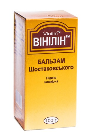 Вінілін розчин нашкірний 100 г 1 флакон