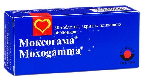 Моксогама таблетки 0,4 мг 30 шт