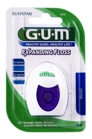 Gum Expanding Floss Зубна нитка з ефектом розширення 30 м 1 шт