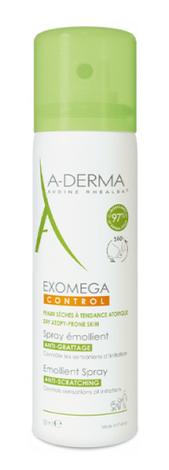 A-Derma Exomega Control Пом'якшувальний спрей для сухої й атопічної шкіри 50 мл 1 флакон