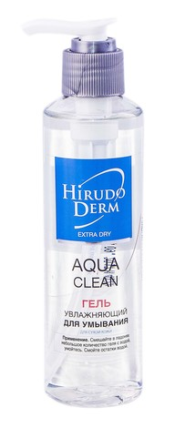 Hirudo Derm Extra Dry Гель зволожувальний для вмивання 180 мл 1 флакон